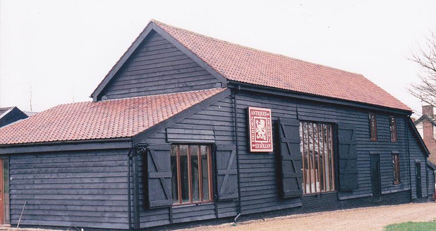 Debden Barn Post Conversion 1999