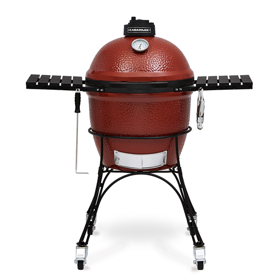 Kamado Joe Classic, our most popular grill. Kamado Joe Classic is the perfect size for typical backyard grilling and smoking. Att Debden Barns, Essex.