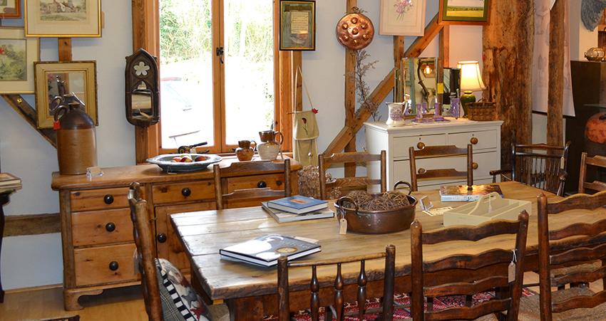 Berrick Antiques at Debden Barns Saffron Walden