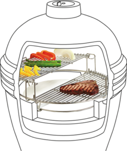 Kamado Joe Flexible Cooking System
