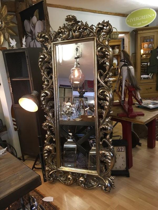 Large Ornate Freestanding Mirror Debden Barns